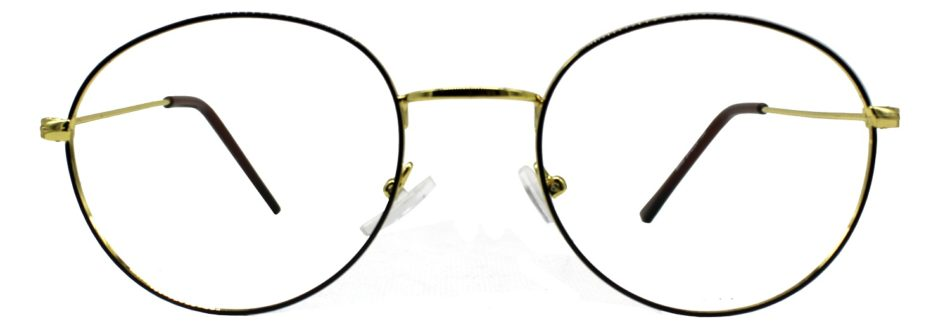 Golden Round Glasses 241114 3