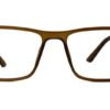 Brown Rectangle Glasses 26011 7