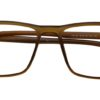 Brown Rectangle Glasses 26011 5