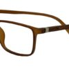 Brown Rectangle Glasses 26011 6