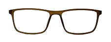 Brown Rectangle Glasses 26011 4