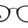 Black Round Glasses 26012 7