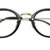 Black Round Glasses 26012 5