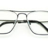 Silver Square Glasses 191116 5