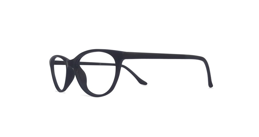 Black Cat Eye Glasses Sf 9846 2
