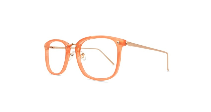 Orange Square Glasses Sf 9865 2