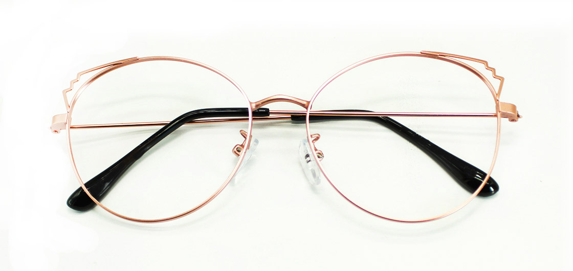 Pink Cat Eye Glasses Sf 9866 1