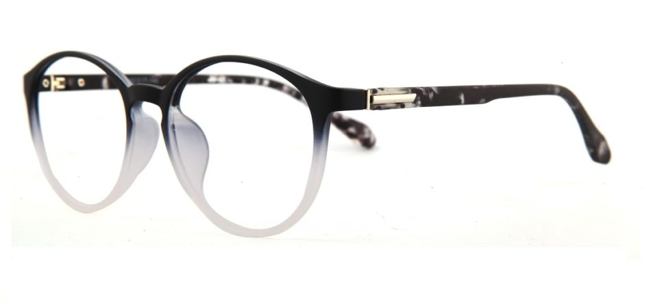 Black Gradient Round Glasses 110427 2