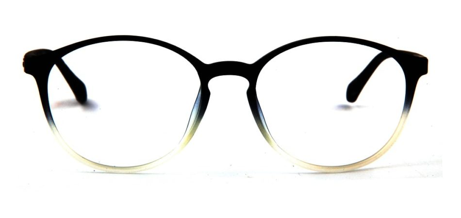 Black Gradient Round Glasses 110427 3