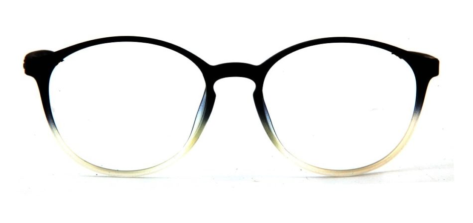 Black Gradient Round Glasses 110427 4