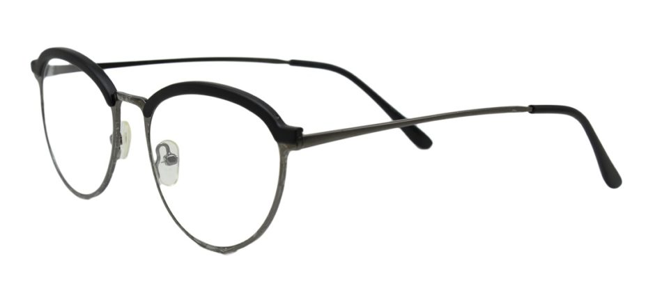Silver Browline Glasses Sf 9856 2