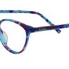 Floral Cat Eye Glasses Sf 9854 6