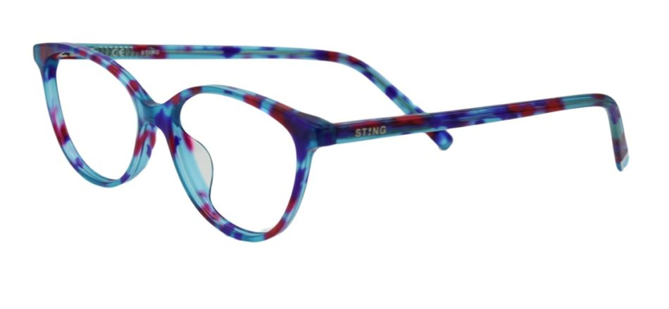Floral Cat Eye Glasses Sf 9854 2