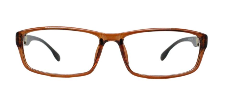 Brown Rectangle Glasses 251113 3