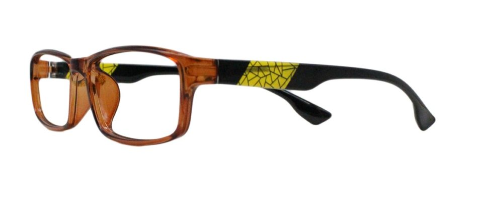 Brown Rectangle Glasses 251113 2