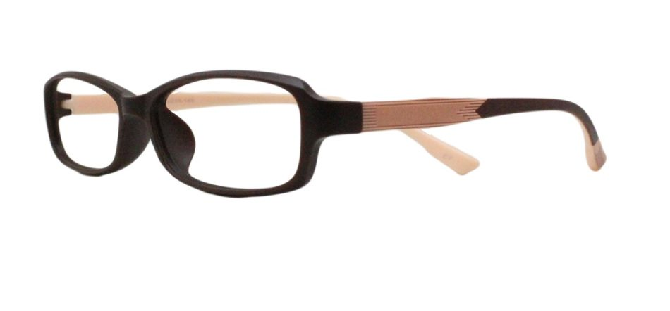 Brown Rectangle Glasses 111414 2