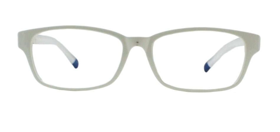 White Rectangle Glasses 191113 3