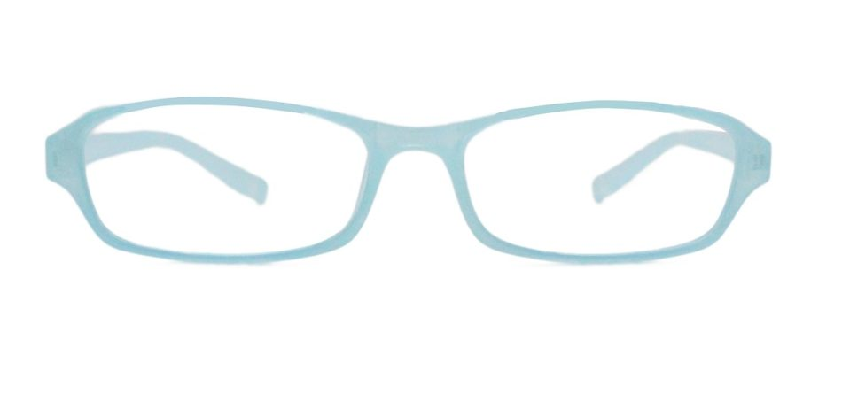 Sky Blue Rectangle Glasses 251118 3