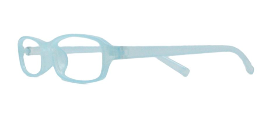 Sky Blue Rectangle Glasses 251118 2