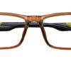 Brown Rectangle Glasses 251113 5
