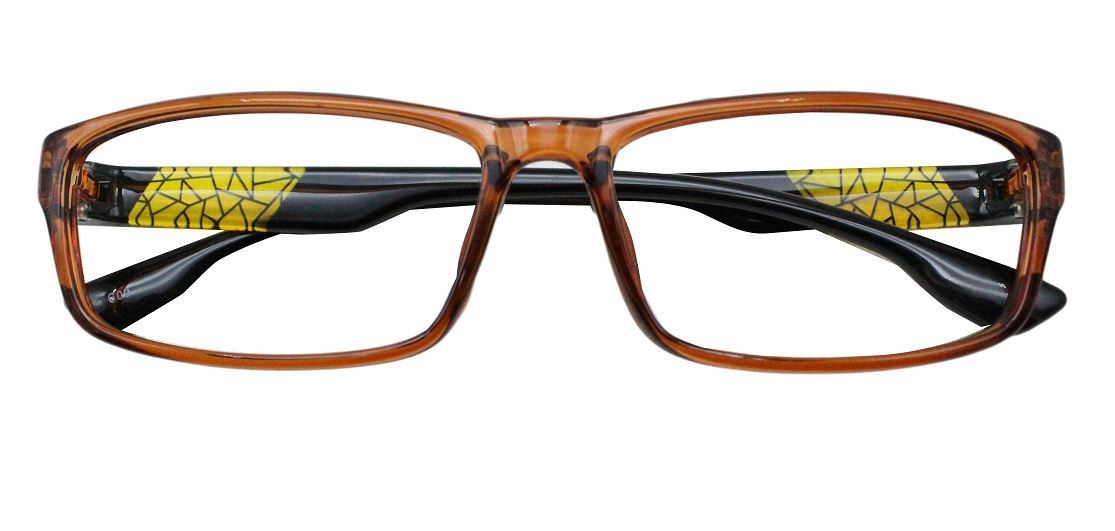 Brown Rectangle Glasses 251113 1