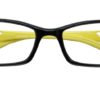 Black Rectangle Glasses 25111 5