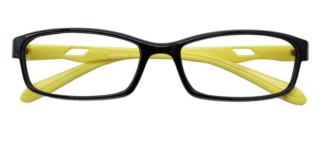 Black Rectangle Glasses 25111 1