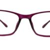 Purple Rectangle Glasses 220216 7