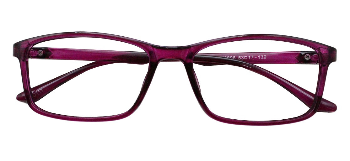 Purple Rectangle Glasses 220216 1