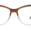 Brown Round Glasses Sf 9867 5