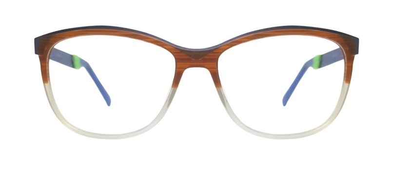 Brown Round Glasses Sf 9867 1