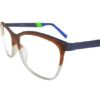 Brown Round Glasses Sf 9867 8