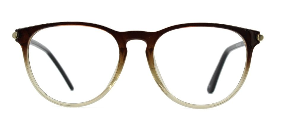 Brown Round Glasses Sf 984 3