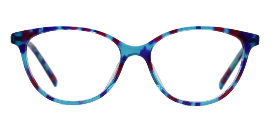 Floral Cat Eye Glasses Sf 9854 3