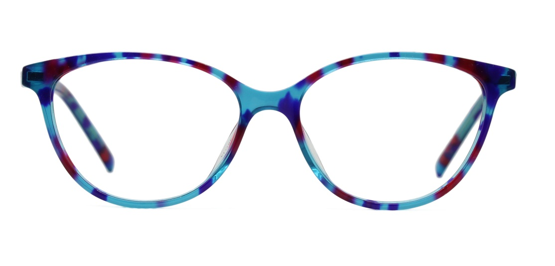 Floral Cat Eye Glasses Sf 9854 1