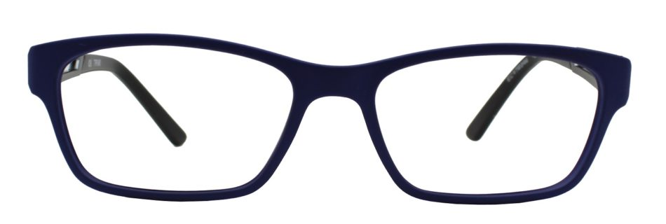 Blue Rectangle Glasses 1311113 3