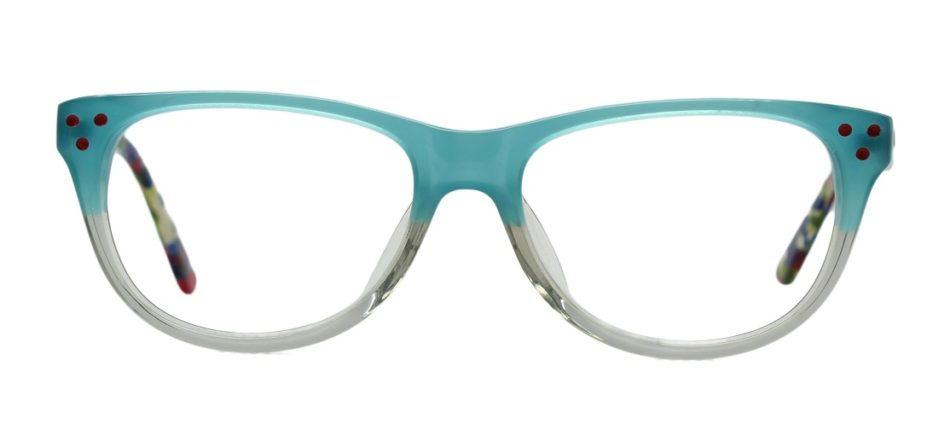 Green Square Kids Glasses 270127 3