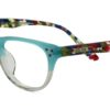 Green Square Kids Glasses 270127 6
