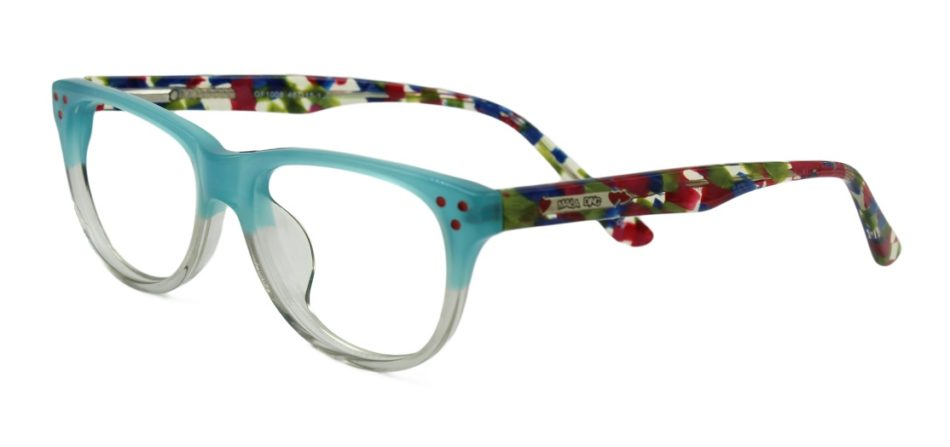 Green Square Kids Glasses 270127 2