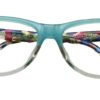 Green Square Kids Glasses 270127 5