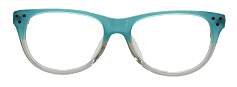 Green Square Kids Glasses 270127 4
