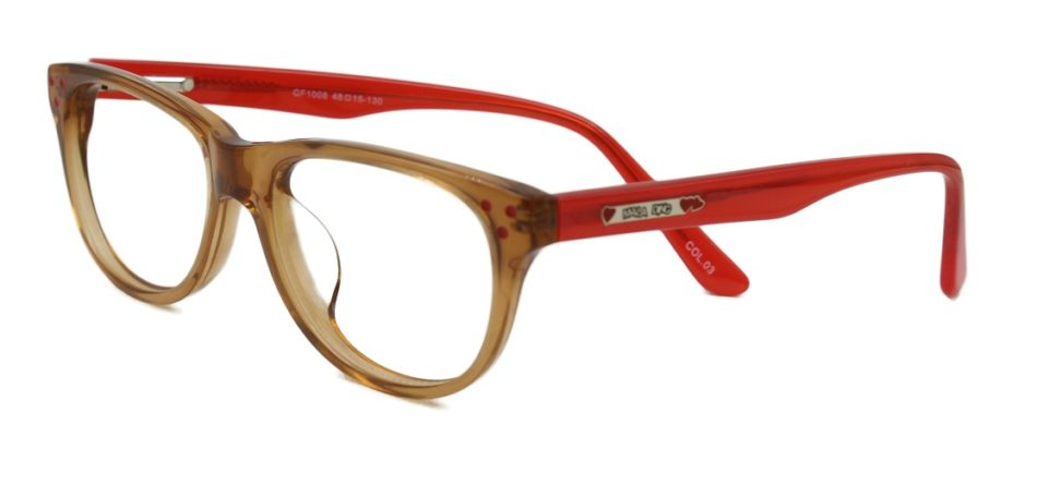 Red  Square Kids Glasses 270128 2