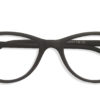 Black Cat Eye Glasses Sf 9846 5