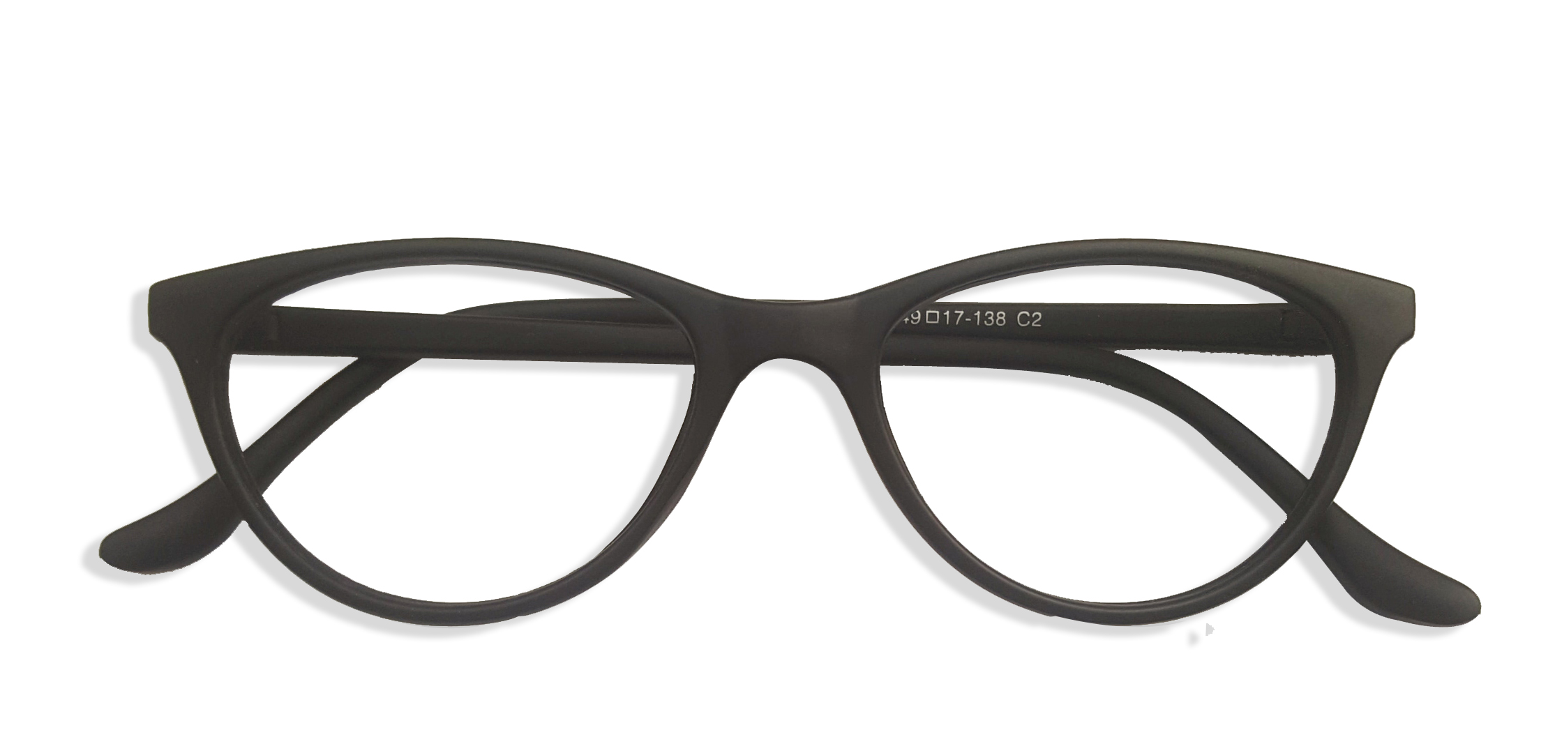 Black Cat Eye Glasses Sf 9846 1