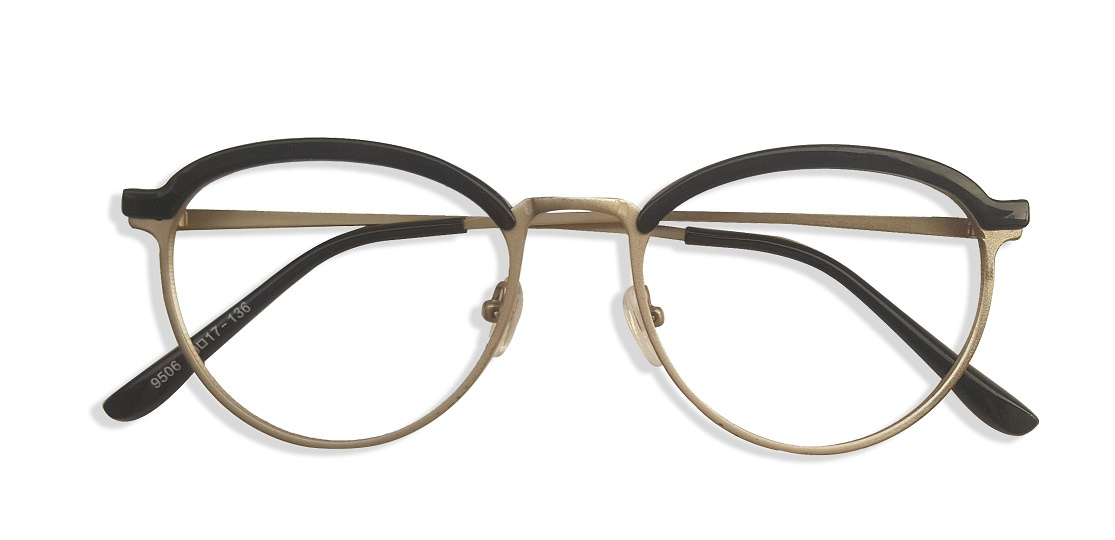 Silver Browline Glasses Sf 9856 1