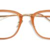 Orange Square Glasses Sf 9865 5